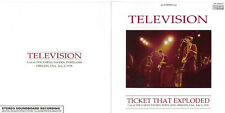 TELEVISION-TICKET THAT EXPLODED-Japan CD