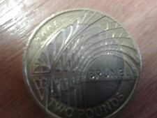 2006 Isambard Kingdom Brunel Paddington Station £2 Pound Coin