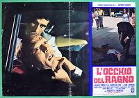 T40 Fotobusta L'Auge Der Spinne - Antonio Samstag Klaus Kinski Lucrezia Love 5
