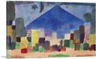 ARTCANVAS Egyptian Night 1915 Canvas Art Print by Paul Klee