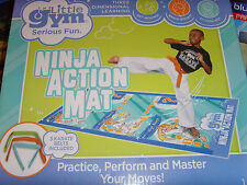 NEAT Ninja Action Mat Practive and Perform The Little Gym Kids playset gift set