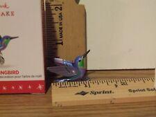 2016 Hallmark Beauty of Birds Hummingbird Miniature Ornament