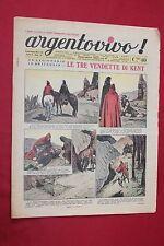 rivista a fumetti ARGENTOVIVO ED. LA TRIBUNA ANNO II N.48 (1937)