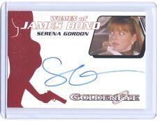 2014 James Bond Archives Serena Gordon ( Caroline ) autograph auto card #WA51