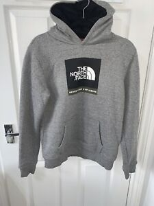 The North Face Grey Hoodie Junior Size XL