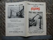 Alston Windmills Post Hole Digger Gisborne