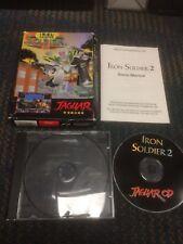 Iron Soldier 2 (Atari Jaguar CD, 1997) BOX AND MANUAL ONLY
