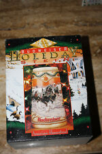 1996 Budweiser Holiday Stein Mug Bud American Homestead Clydesdales New In Box