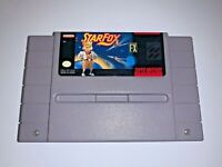 Star Fox - SNES Super Nintendo Game Starfox - Tested Working & AUTHENTIC