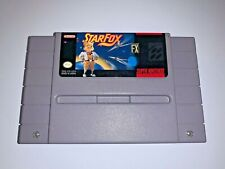 Star Fox - SNES Super Nintendo Game Starfox - Tested Working & AUTHENTIC