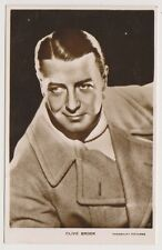 Cinema Star postcard - Clive Brook - RP