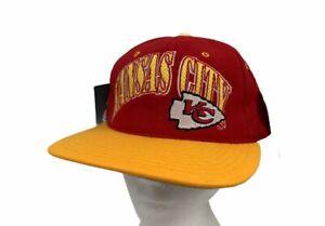 Vintage Kansas City Chiefs NFL Pro Line Starter Cap Hat Red Snapback OS New