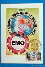 LA MACHINE OUTIL   Carte Postale Maximum FDC Yt C 1842