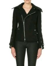 DIESEL BLACK GOLD Wokate Biker Jacket Size 36 XS  Made in Italy RRP - £765