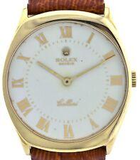 Rolex Geneve Cellini 750/18K Gold Handaufzug Herrenuhr Ref. 4133 Kaliber  1601