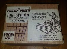 FILTER QUEEN Pow-R-Polisher Advertising Collectable Vacume Parts