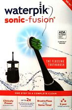 Waterpik Sonic-Fusion® Flossing Toothbrush Black with Chrome
