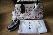 NWT Marc Jacobs New York Leather Splatter Limited Edition Satchel Bag