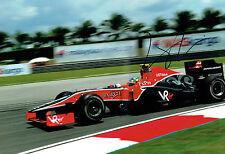 Lucas Di GRASSI Autograph SIGNED 12x8 Photo F1 Racing Driver Malaysia GP