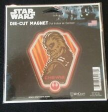 Star Wars Chewie Die-Cut Magnet Disney - New