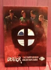 Dexter season 3 quad costume card Michael C. Hall and others