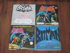 Batman-Lot of 4 LP's /Records