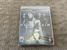 HEAVY RAIN PS3 Playstation 3 game BRAND NEW SEALED!
