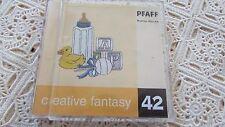Pfaff Emb Machine Card Creative Fantasy #42 Martha Pullen, 7570,7560, 2140,2170