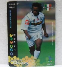 FOOTBALL CHAMPIONS Italiano 2003-04 - EDGAR DAVIDS foil - 035/100 JUVENTUS