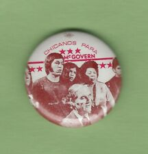 """1972 George McGovern 1-1/4"""" / """"Chicanos Para"""" Presidential Campaign Button"""