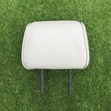 ALFA ROMEO 156 - REAR HEADREST - LIGHT GREY LEATHER - FITS EITHER SIDE