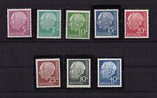 Bund Mi.Nr.179y-260y ** Postfrisch----Theodor Heuss Lumogen-----ca. 70 M€-----54