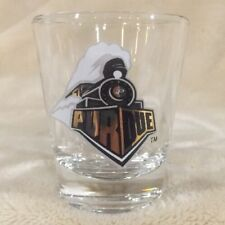 Purdue Boilermakers Round Circle Shot Glass NCAA Lafayette Indiana Big10 Ten