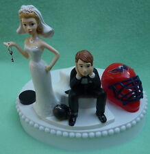 Wedding Cake Topper Washington Capitals Caps Hockey Key Themed Sports Fans Funny