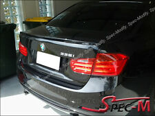 BMW F30 320i 328i 335i 4Dr Performance Painted 475 Black Trunk Lip Spoiler Wing