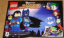 LEGO RARE GIVEAWAY PROMO DC UNIVERSE SUPERHEROES 1 SUPERMAN BATMAN COMIC