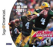NFL Quarterback Club 2001 NEW factory sealed for the Sega Dreamcast system