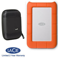 LaCie Rugged Mini 2TB External Mobile Hard Drive 9000298 + MANUFACTURER WARRANTY