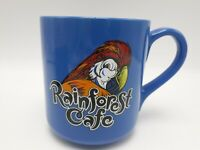 Rainforest Cafe Parrot Blue Coffee Cup Rio Adventurous Beauty Passion to Dance