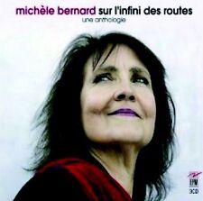MICHELE BERNARD - SUR L'INFINI DES ROUTES, 3 CD (NEUF)