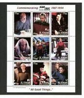 "STAR TREK - The Next Generation - ""All Good Things"" commemorative stamp folio"