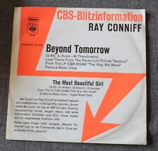 Ray Conniff, beyond tomorrow / the most beautiful girl, SP - 45 tours promo