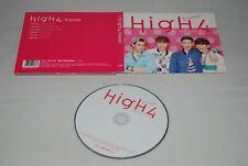 HIgh4 CD 2nd mini album Hi Summer Japanese edition K-POP KPOP Japan import
