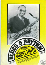 MAGAZINE BLUES & RHYTHM GOSPEL TRUTH No 59 MARCH APRIL1991 JACK McVEA