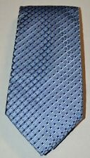 JONES NEW YORK NEW NWT Blue Gray Black Basketweave 100% Silk Neck Tie $35.00