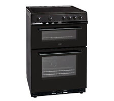 LOGIK LFTC60B16 Electric Fan Assist Single Oven Cooker With Seperate Grill Black