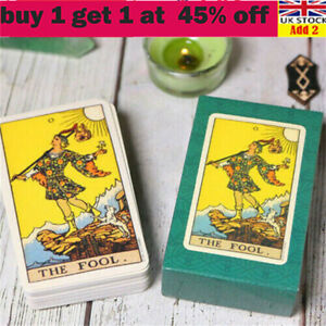 Tarot Card Deck Card Rider Learning Set And Manual Complete Sealed Card UK STOli