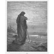 Amos Gustave Dore-Bibbia Antico c1880 stampa