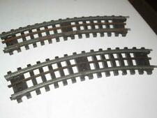 LIONEL - SUPER O CURVE TRACK -2 SECTIONS  FAIR/GOOD -  S14