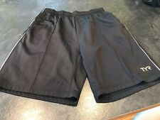 0e58205cb68bc Men's TYR Black Athletic Shorts Size XL